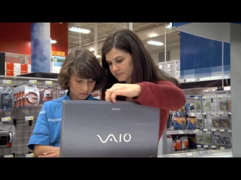 Microsoft Laptop Hunters - Lisa and Jackson get a Sony VAIO
