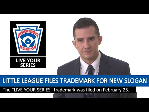 "Little League Baseball Files New Trademark for ""LIVE YOUR SERIES"""