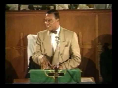 Minister Louis Farrakhan Speaking at The Council for a Parliament of the World