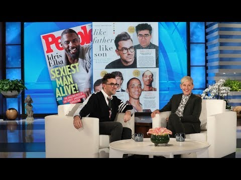 Dan Levy on Making People Magazine's 'Sexiest Man Alive' Issue with His Dad Eugene