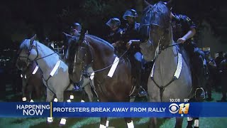 Tensions Rise During Dallas Rally Against White Supremacy