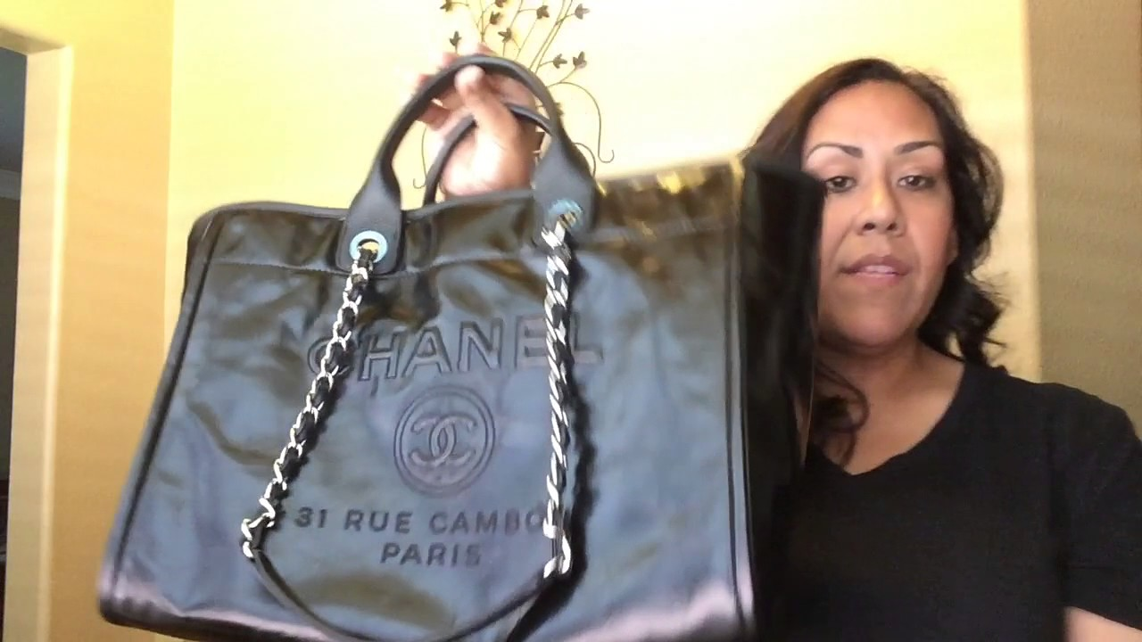 06dfd04be220 Chanel Deauville Review!! (All Leather) Large Tote - YouTube