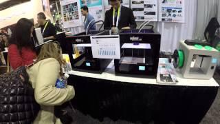 MBOT 3D PRINTER - DESKTOP 3D PRINTER IN ACTION