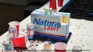 Turning 21 this year? Natural Light will give you free beer