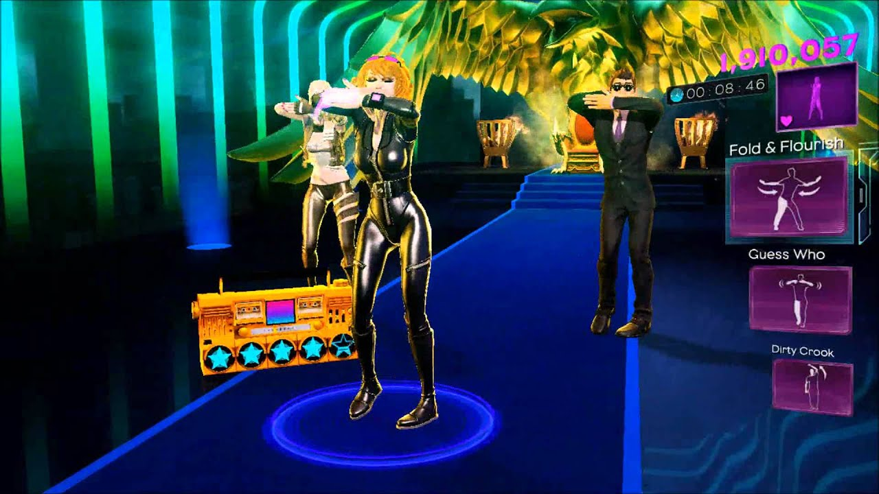 Dance Central 3 - Toxic - (Hard/100%/Gold Stars) (DC2 ...
