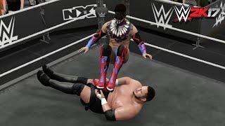 WWE 2K17 - Top 10 Moves of Finn Bálor!