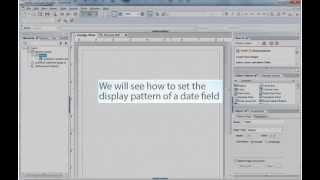 Format The Date Pattern In PDF Forms Using Livecycle Designer