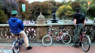 Manhattan Mayhem - Three valley lads paddle (and bike) around the city
