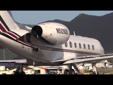 11 Private jet types SXM activity