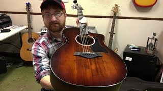 Review of Taylor 224ce-K DLX Acoustic Electric Guitar