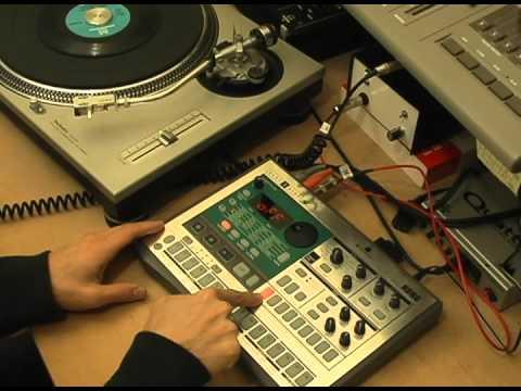 Korg Electribe ES-1: How to sample, truncate, loop, apply effect