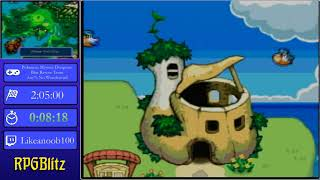Pokemon Mystery Dungeon Blue Rescue Team Any% No Wondermail by likeanoob100 - RPGBlitz2019