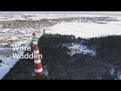 Wintersporten op de Waddeneilanden: 15 centimeter sneeuw  - RTL NIEUWS