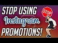 THE BEST STRATEGY FOR PLACING INSTAGRAM ADS FOR YOUR BUSINESS | Stop Using Instagram Promotion