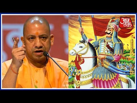 India 360: Yogi Adityanath Calls Akbar Intruder, Praises Maharana Pratap