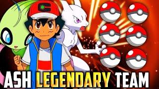 Ash's Legendary Pokémon Team Revealed ( KANTO - GALAR ) | All Legendary Pokémon owned By Ash | Hindi