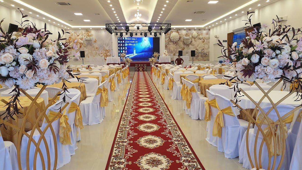 Top nhà hàng tiệc cưới đẹp Galaxy Palace wedding & conference hall #  part 1