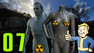 Fallout 4 Walkthrough Gameplay Part 7 - SNUGGLING A MANNEQUIN?! (PC)
