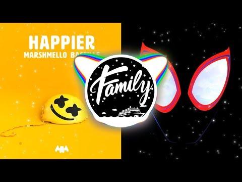 HAPPIER x SUNFLOWER Mashup - Marshmello Post Malone Swae Lee Bastille