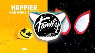 HAPPIER x SUNFLOWER (Mashup) - Marshmello, Post Malone, Swae Lee, Bastille