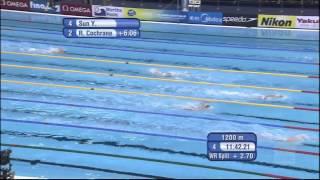 Sun Yang на 1500 m свободен стил