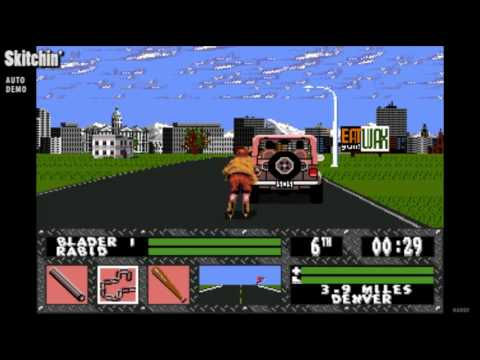 Skitchin Auto Demo Sega Genesis 1994 Youtube