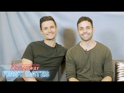 Broadway First Dates: Mark Evans and Justin Mortelliti