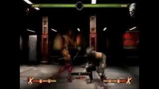 Mortal Kombat - Skarlet - B2 Teleport Punish Combo