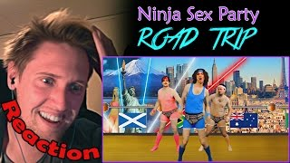 "We watch the video ""Road Trip - NSP"". Finally Ninja Sex Party is ba..."