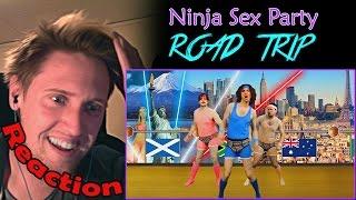 "We watch the video ""Road Trip - NSP"". Finally Ninja Sex Party is ba..."