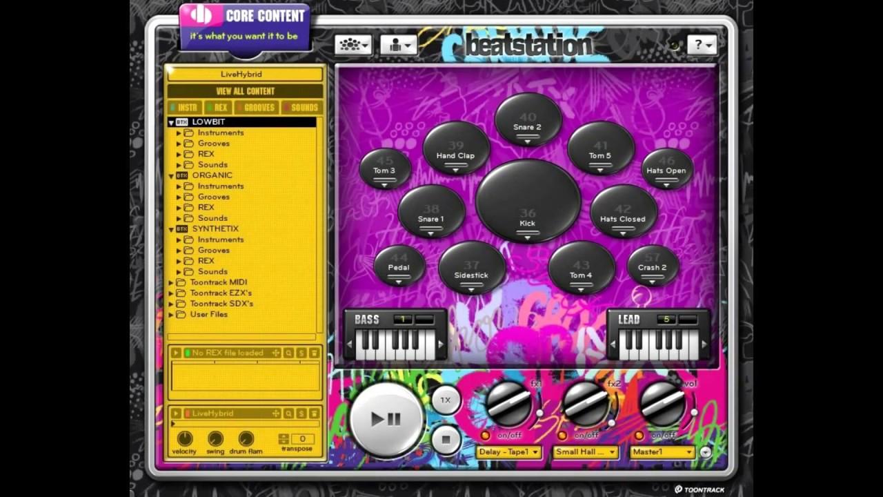 Download Toontrack Beatstation