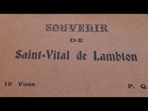 Souvenir De Saint Vital de Lambton Unused Postcards