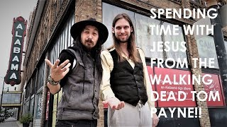 CELEBRITY GUEST JESUS FROM THE WALKING DEAD ACTOR TOM PAYNE!!