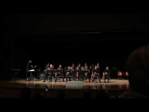 Cathey Middle School Jazz Band Christmas 2018