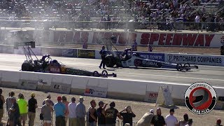 2017 NHRA Toyota Nationals @ LVMS (Part 38 - Top Fuel Dragster Semi Final Eliminations)