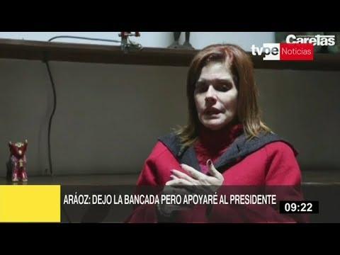 Mercedes Aráoz tras renuncia: seguiré colaborando con el presidente Vizcarra