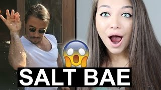 REACTING TO #SALTBAE COMPILATION (SO SATISFYING)