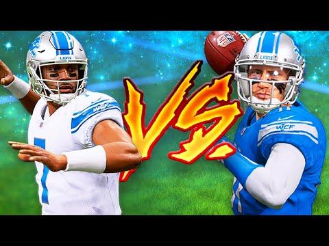 The Battle for QB1 | Detroit Lions Franchise Madden 22