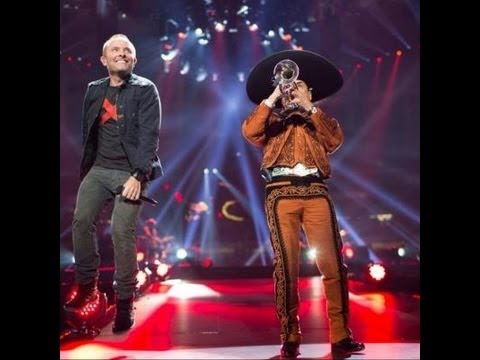 God's Great Dance Floor W/ Mariachi - Chris Tomlin - Passion 2013