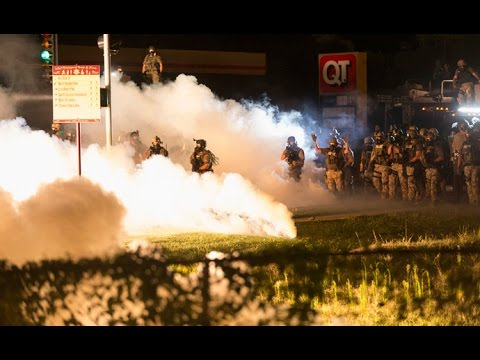 'You must disperse now!' Missouri police crack down on Ferguson protesters