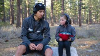 Race Reporter Ruby with Peter Sagan