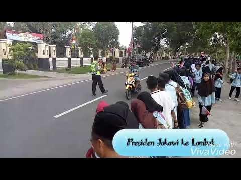 Jokowi Di Lombok