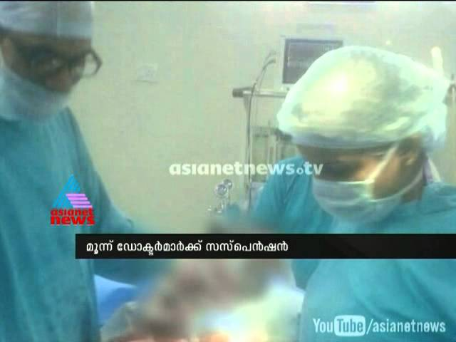 Case against hospital as caesarean photos go viral on Whatsapp:Three doctors suspended