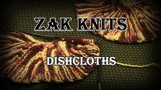 ZAK Knits Episode 1: Knitting Dishcloths