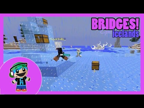 The Bridge Friday - Intense Epic Icelands War with RadioJason - Minecraft