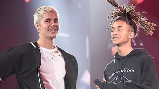 Justin Bieber & Jaden Smith REUNITE For