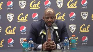 Cal Men's Basketball: Wyking Jones Press Conference (2/16/19)