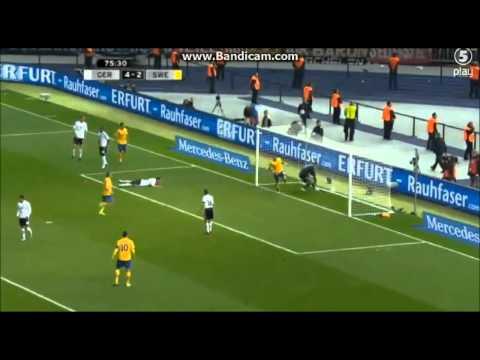 Germany vs Sweden 4 4 swedish commentators 2012 HD