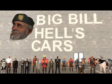 Big Bill Hell's Cars (SFM)