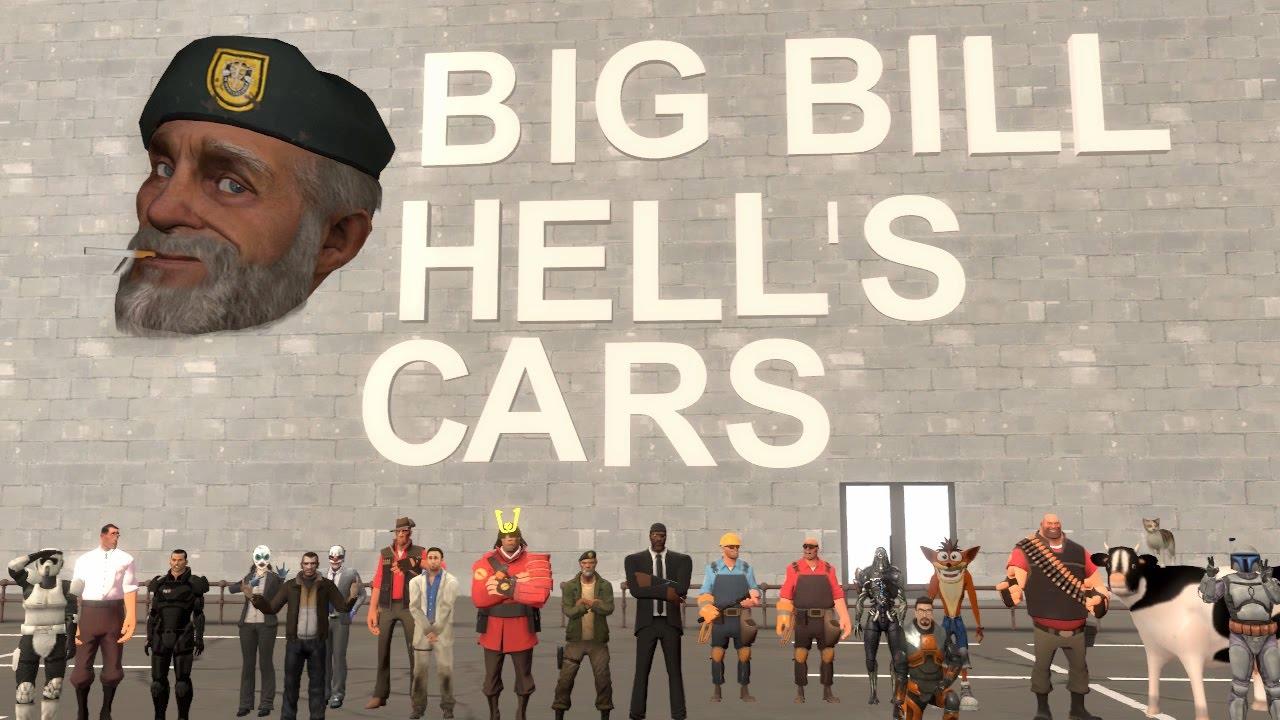 Big Bill Hell S Cars Sfm Youtube